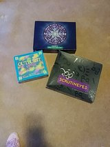 BOARD GAMES..Scrutineyes..OUTBURST JUNIOR and Who WANTS to be a Millionaire. in Aurora, Illinois