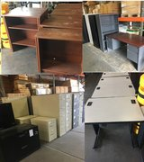 desk,file cabinet, and book case in Camp Pendleton, California