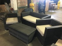 wicker furniture 4 pc set in Camp Pendleton, California