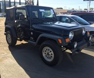 2005 Jeep Wrangler Black in Camp Pendleton, California