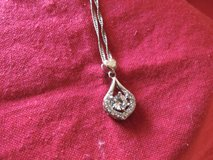 White  Gold and CZ Necklace in Leesville, Louisiana