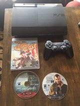PS3 Console + Controller + Games in Okinawa, Japan