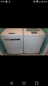 LG smart washer and dryer in Luke AFB, Arizona