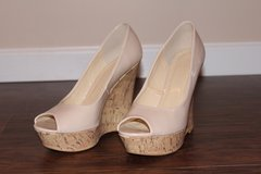 Forever 21 Nude Patent Wedges in Fort Leonard Wood, Missouri