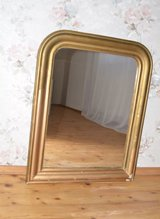 Wonderfull antique chimney mirror from France in Ramstein, Germany