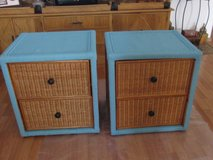 2 end tables ... Turquoise Blue in Alamogordo, New Mexico
