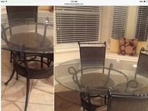 Reduced breakfast table/4 chairs in Houston, Texas