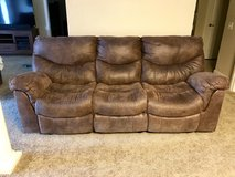 Ashley double reclining couch in Fort Riley, Kansas