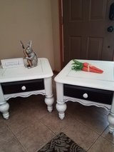 Shabby Farmhouse Rustic Vintage End Tables in Lockport, Illinois