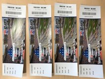 4 Tickets to the race tomorrow @ Atlanta Speedway worth $316 for $150 OBO in Warner Robins, Georgia