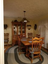 Oak Dining Room Set in Houston, Texas