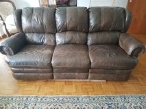 Recliner Leather couch in Wiesbaden, GE