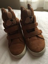Boys size 11 puppy sneakers-worn once! in Shorewood, Illinois