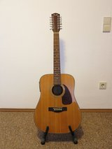 Fender 12-string acoustic/electric guitar in Ramstein, Germany