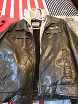 Levi Leather Jacket with Hood in Warner Robins, Georgia