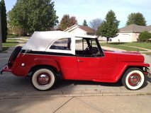 1951 WILLYS JEEPSTER in Joliet, Illinois