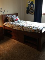 Twin Captains bedroom set in Tinley Park, Illinois