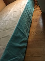 Twin Bed Skirt (Light Turquoise) in Naperville, Illinois