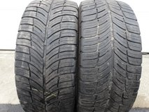 2 - Used 235/50ZR18 BF Goodrich G Force Com-2 Tires in Joliet, Illinois