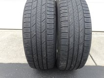 2 - Used 215/60R16 Goodyear Asssurance Tires 95 H Rated in Joliet, Illinois