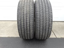 2 - Used 275/65R18 Goodyear Wrangler SR-A Tires in Joliet, Illinois