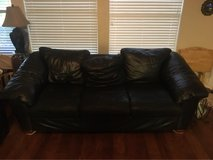 leather couch in Alvin, Texas