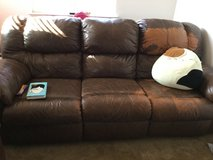 for sale leather sofa in Fairfield, California