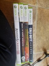 xbox 360 with games in 29 Palms, California