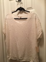 Coldwater Creek sequin Top XL tags in Houston, Texas