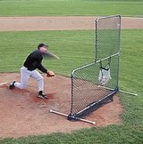 Portable Pitching L Screen in Fort Leonard Wood, Missouri