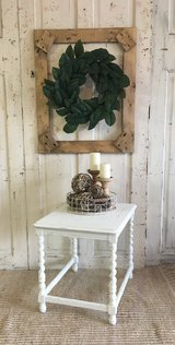 Shabby White Table in Kingwood, Texas