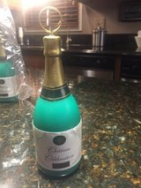 6 New Champagne Bottle Balloon Weights in Bolingbrook, Illinois