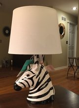 Zebra Head Lamp in Naperville, Illinois