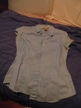 TAPERFIT BUTTON UP BLOUSE in Fort Polk, Louisiana