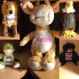 personalized plush animals for children in Fort Lewis, Washington