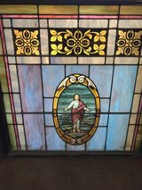 Lead Stain glass in wood frame in Alamogordo, New Mexico