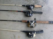 4 fishing poles and more in Fort Knox, Kentucky