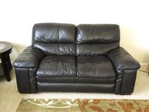 Real Genuine Leather Couch in Fort Carson, Colorado