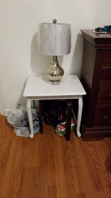 Side table and lamp in Columbus, Georgia