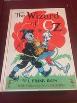 The Wizard of Oz Hardcover Book - 1956 in Lockport, Illinois