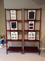 2 Leaning Wall Shelves with Picture Frames in Bartlett, Illinois