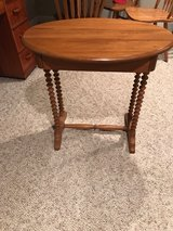 antique table in Plainfield, Illinois