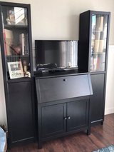 IKEA Desk Hutch / TV stand , with Bookcases in Shorewood, Illinois
