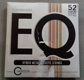 Cleartone custom light (11-52) EQ hybrid metal acoustic strings in Clarksville, Tennessee