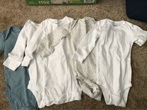 Never Worn Carter's 6mo Onesies in Fort Meade, Maryland
