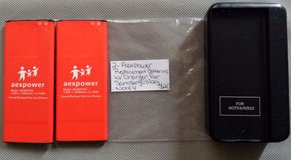 2 Aexpower replacement batteries with charger for Samsung Galaxy note 4 in Fort Campbell, Kentucky