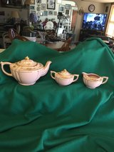 "Teapot, sugar & creamer (Made by ""Sadler"" in England) in Fort Leonard Wood, Missouri"