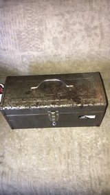 Old tool box in Clarksville, Tennessee