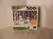 "Sealed 500 Pc Puzzle.  ""Birds & Snowmen"" in Chicago, Illinois"