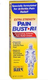 WTD: PAIN-BUST'R-II OTC ARTHRITIS PAIN RUB MEDICATION in Fort Leonard Wood, Missouri
